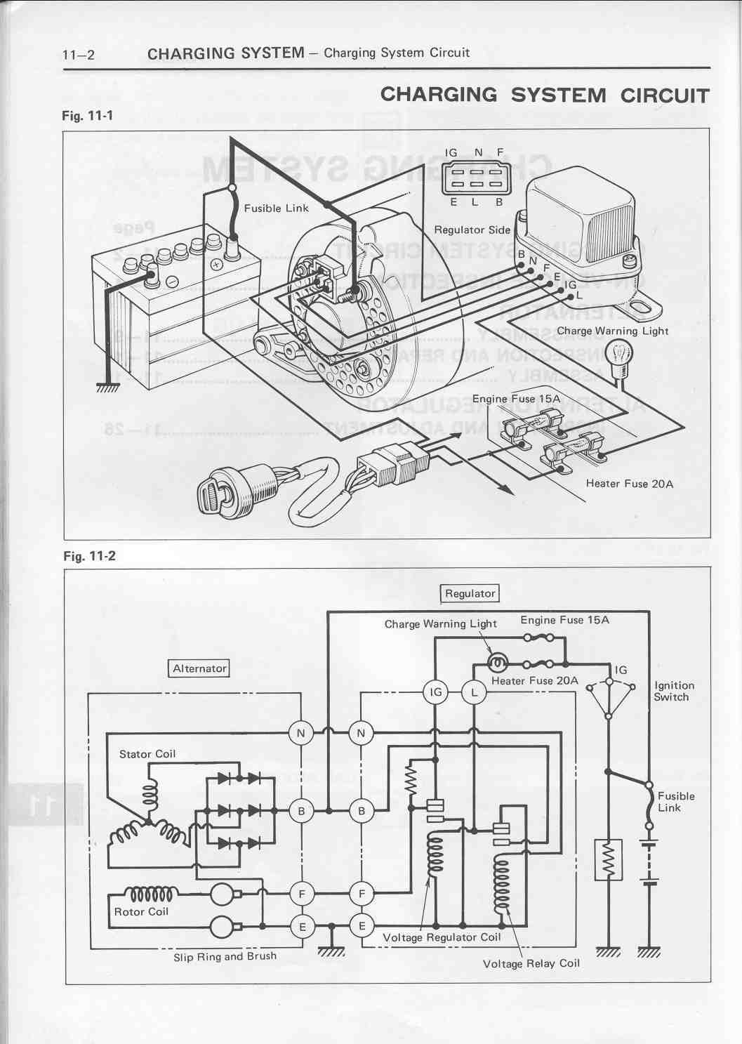 Toyota Voltage Regulator Diagram 32 Wiring Images For 1980 20r Motor Chgdiag1lu3 Ra60 21r C At